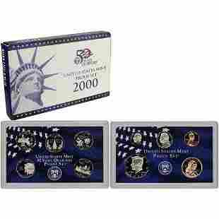 2000 UNITED STATES MINT PROOF SET
