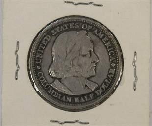 1893 UNITED STATES COLUMBIAN HALF DOLLAR