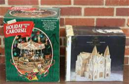 HOLIDAY AROUND THE WORLD CAROUSEL  COLLECTIBLE