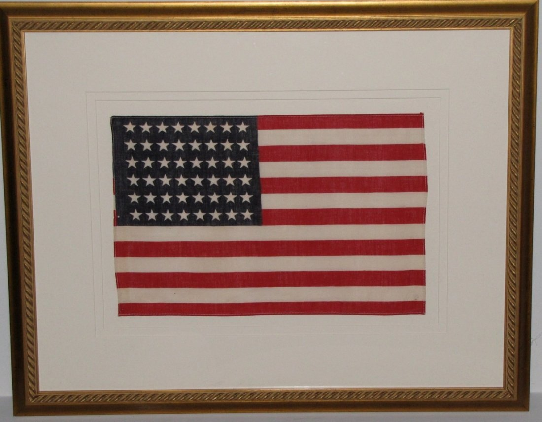 3: Framed American WWII Flag by Historical Americana