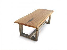 """5: Accent Table Base-""""Aged Rivers"""" by Harts Creek"""