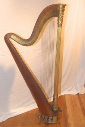 Early 19th Century Harp By Luisana Designs