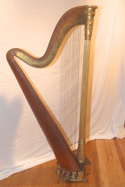 20: Early 19th Century Harp by Luisana Designs