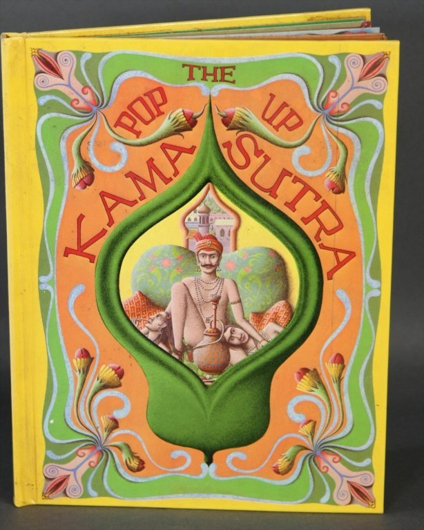 POP UP KAMA SUTRA BOOK BY BOB ROBINSON: