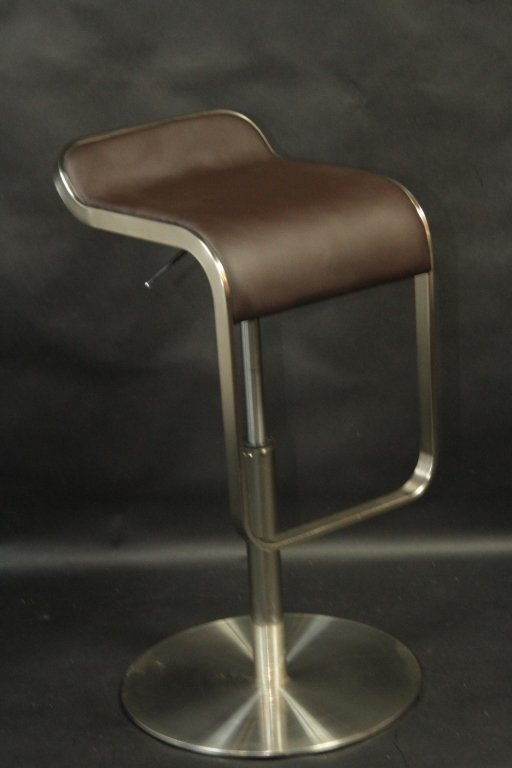 BLACK MODERN BAR STOOL: