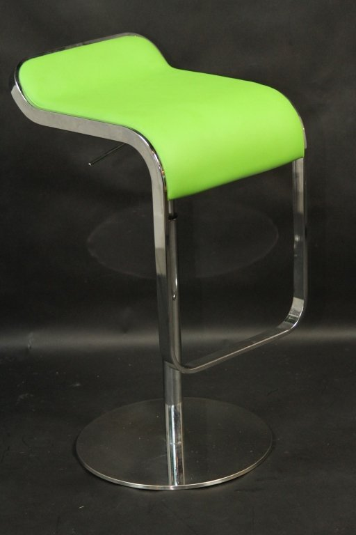 GREEN MODERN BAR STOOL: