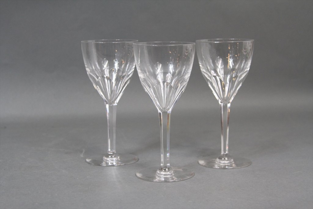 3 VSL CRYSTAL GLASSES: