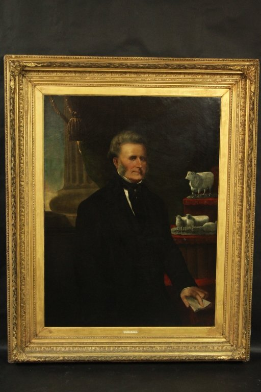 JONAS WEBB (1796-1862) OOC PORTRAIT OF: