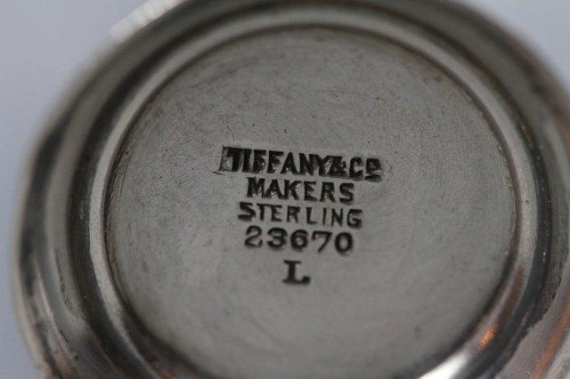 TIFFANY & CO. MAKERS STERLING STAMP MOISTENER: - 5