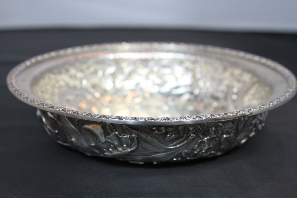 STERLING KIRK REPOUSSE BOWL: