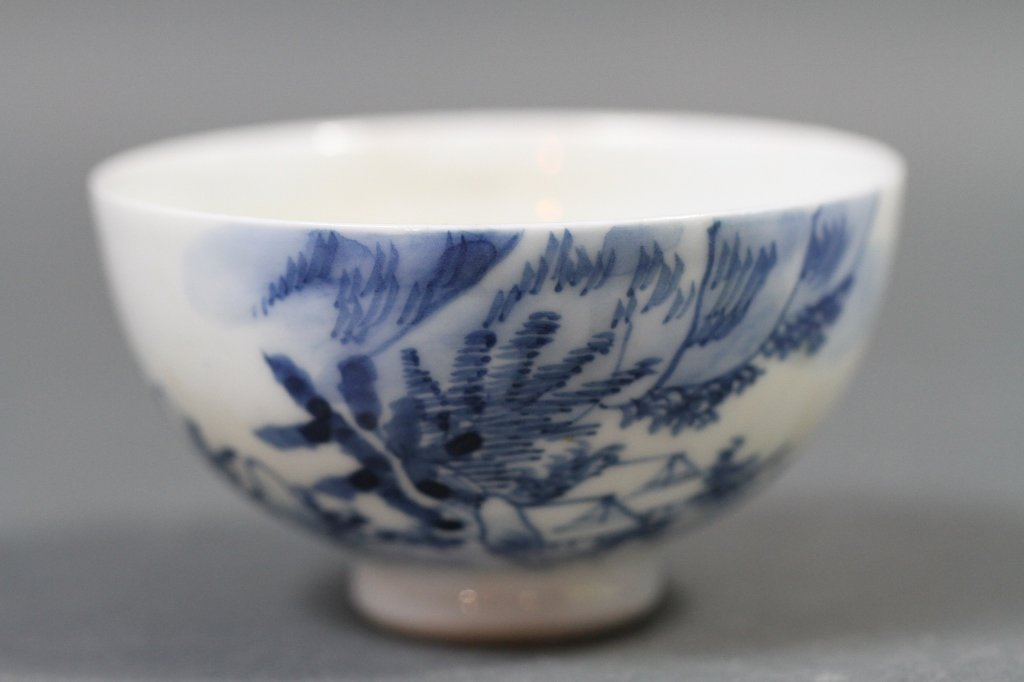 CHINESE BLUE & WHITE BOWL: