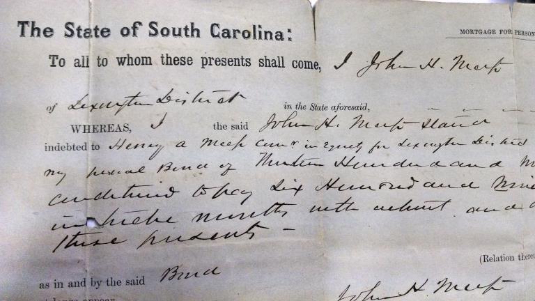 Sc 1862 original slave deed document charleston sc 1862 original slave deed document xflitez Gallery