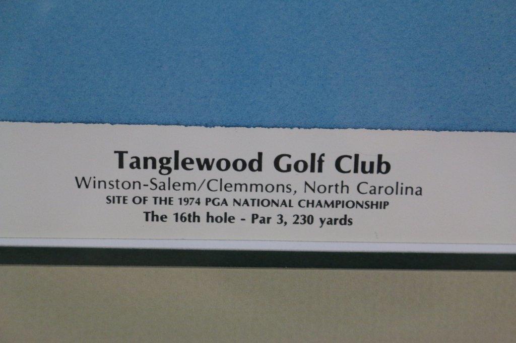 1974 PGA GENE RUSSEL TANGLEWOOD POSTER - 3