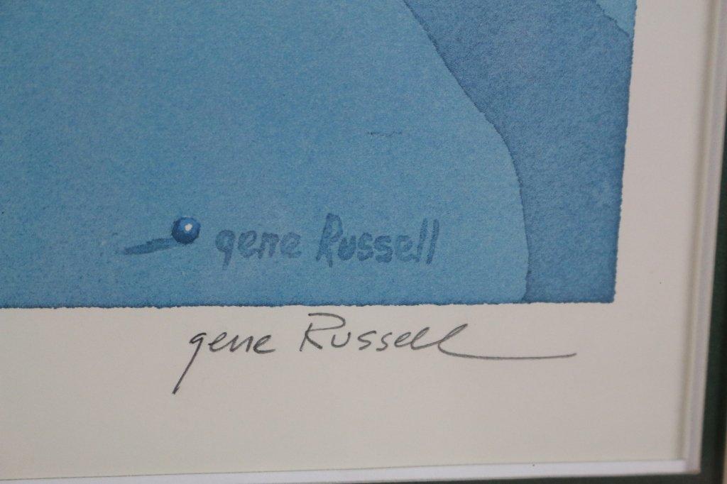 1974 PGA GENE RUSSEL TANGLEWOOD POSTER - 4