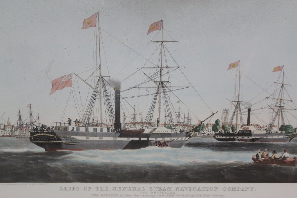 "WJ HUGGINS ""GENERAL STEAM NAVIAGATION COMPANY"""
