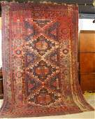PERSIAN ANTIQUE ROOM SIZE HANDWOVEN RUG