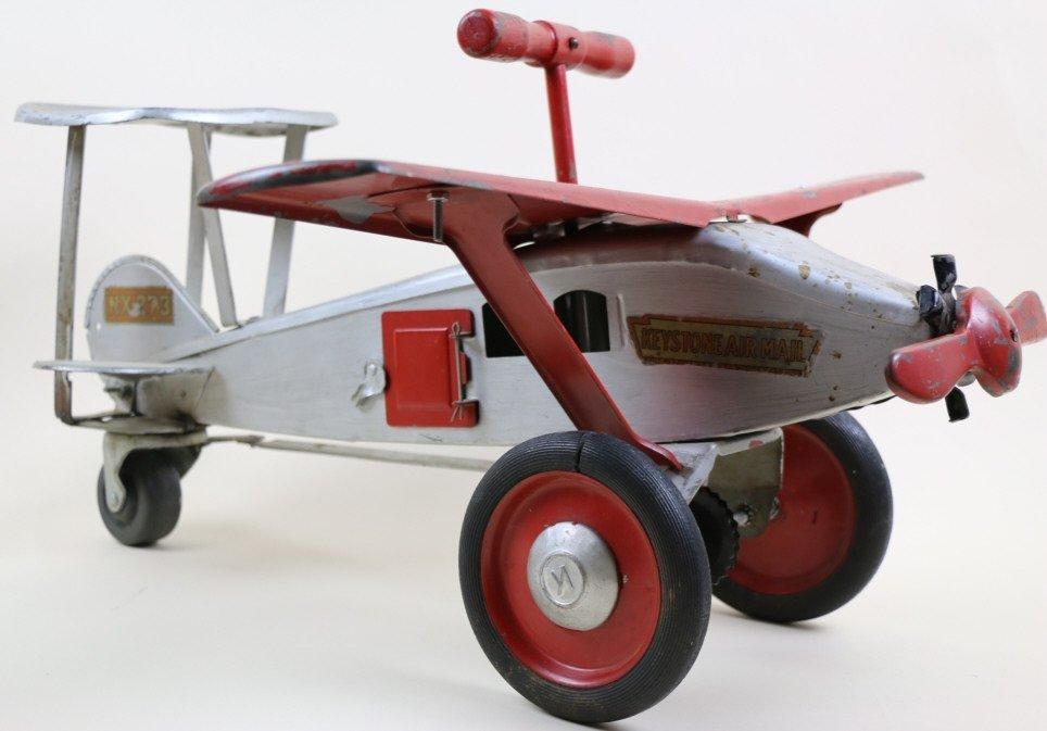 KEYSTONE AIRMAIL VINTAGE  RIDER