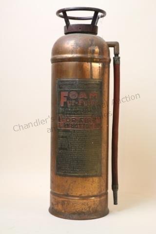 FOAM FYR-FYTER VINTAGE FIRE EXTINGUISHER