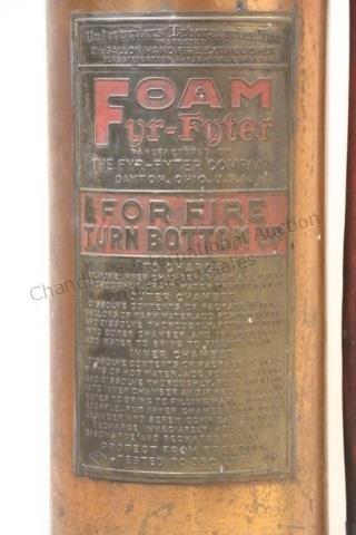 FOAM FYR-FYTER VINTAGE FIRE EXTINGUISHER - 2