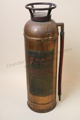 FOAM FYR-FYTER VINTAGE FIRE EXTINGUISHER - 3