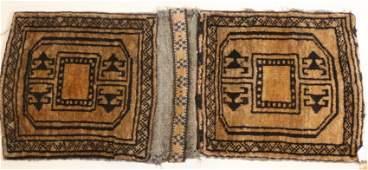 PERSIAN HAND WOVEN CAMEL SADDLE BAG