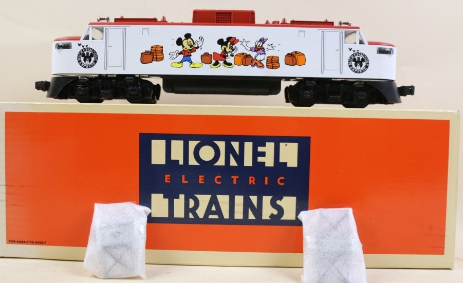 LIONEL THE DISNEY ELECTRIC ENGINE
