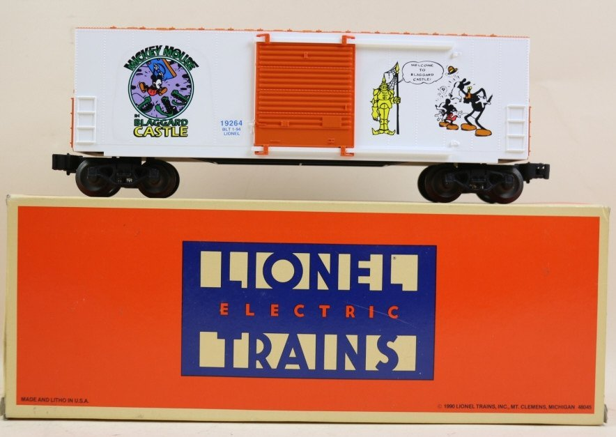"LIONEL ""PERILS OF MICKEY MOUSE"" BOXCAR"