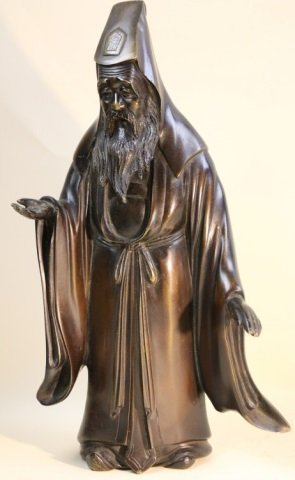 CHINESE ANTIQUE BRONZE IMMORTAL