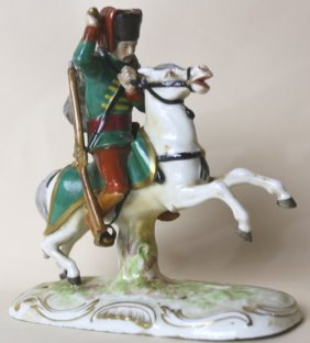 Meissen Antique Russian Porcelain Sculpture