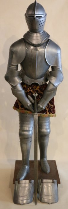 Vintage Suit Of Armour