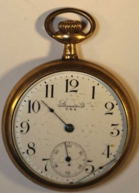 Standard Watch Co. Ny, Ny Antique Pocket Watch