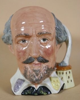 Royal Daulton Large Shakespeare Character Jug