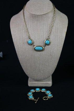 Ralph Lauren Necklace And Bracelet Set