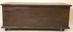 Antique American Dovetail Blanket Chest