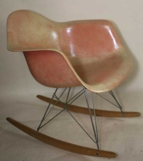Charles Eams Midcentury Modern Rocking Armchair