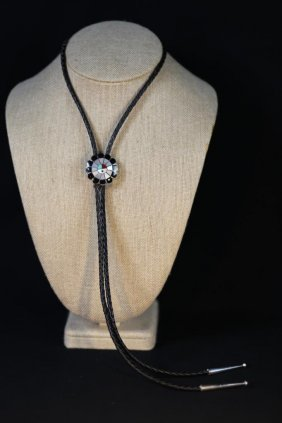 """frank D. Sualay"" Sterling Silver Zuni Bolo"