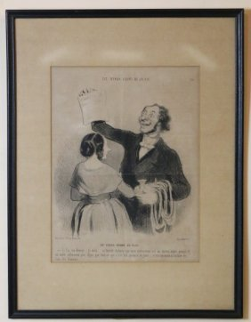 French Antique Engraving