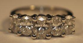 14kwg & Diamond Ring