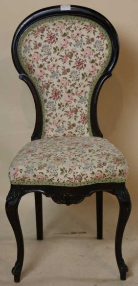 Victorian Antique Slipper Chair