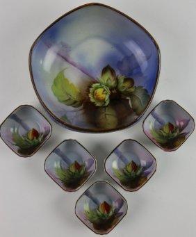 Japanese Noritake Handpainted Porcelain Service