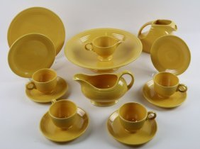 Fiestaware Yellow Vintage Grouping