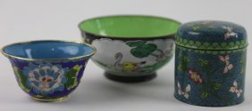 Chinese Cloisonne Lot