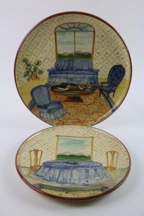 Liz Lawrence Hand Painted Earthenware