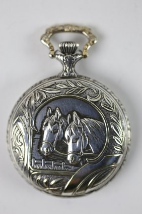 Bucherer Equestrian Pocket Watch