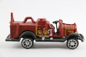 Vintage Cast Iron Firetruck