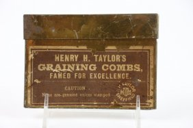 """""""henry H. Taylor's"""" Graining Combs"""