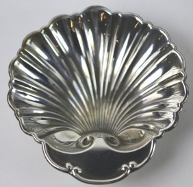 Sterling Silver Shell Form Dish
