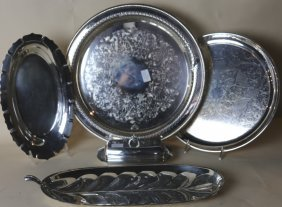 Vintage Silver Plate Grouping