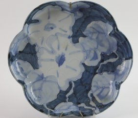 Japanese Floral Antique Charger