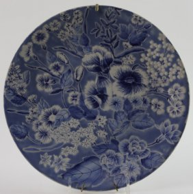Japanese Floral Charger